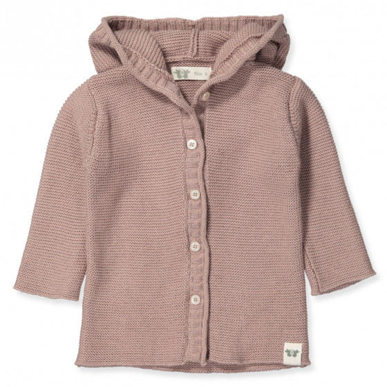 Organic Wool & Cotton Cardigan