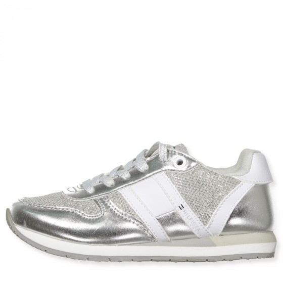 Tommy Hilfiger - Silver sneakers