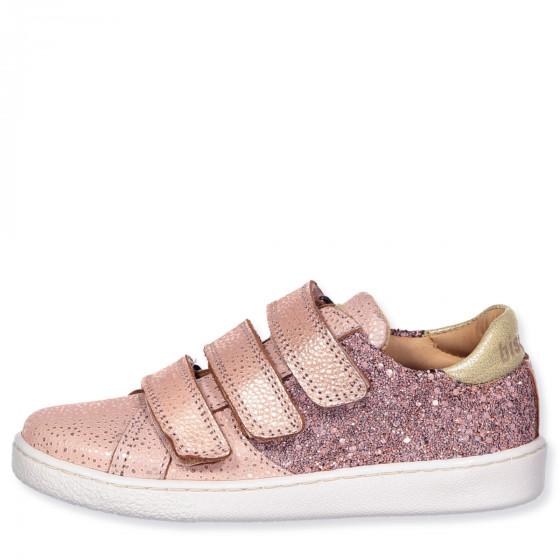 Bisgaard - Blush glitter shoes - blush