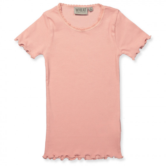 Rose rib t shirt