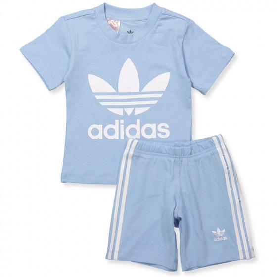Blue T shirt and shorts set