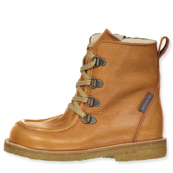 Cognac tex winter boots