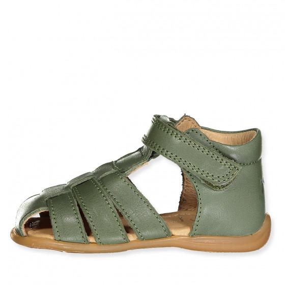 Pom Pom Baby Sandal Olive