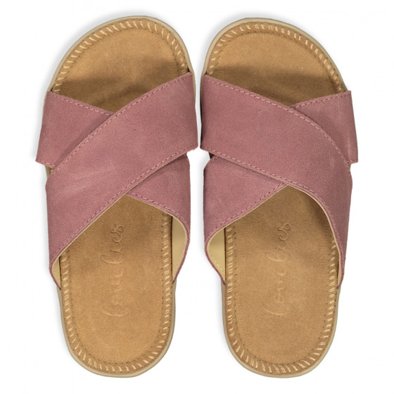 Lovelies Bellevue Sandals Dark Rose Rosa
