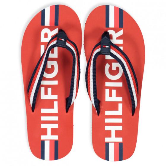 Tommy Hilfiger - Red flip-flops - RED