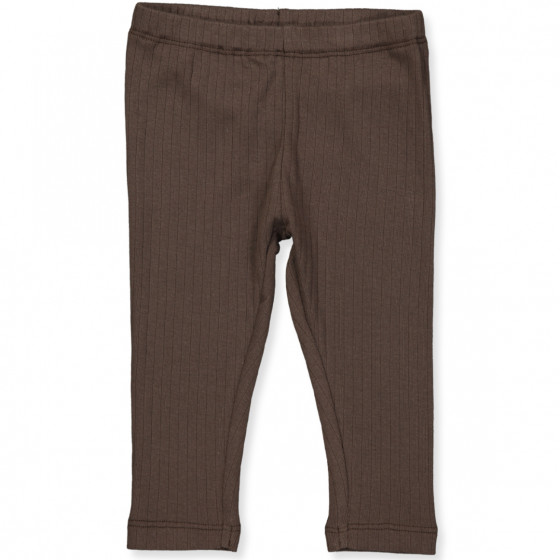 Organic leggings brown