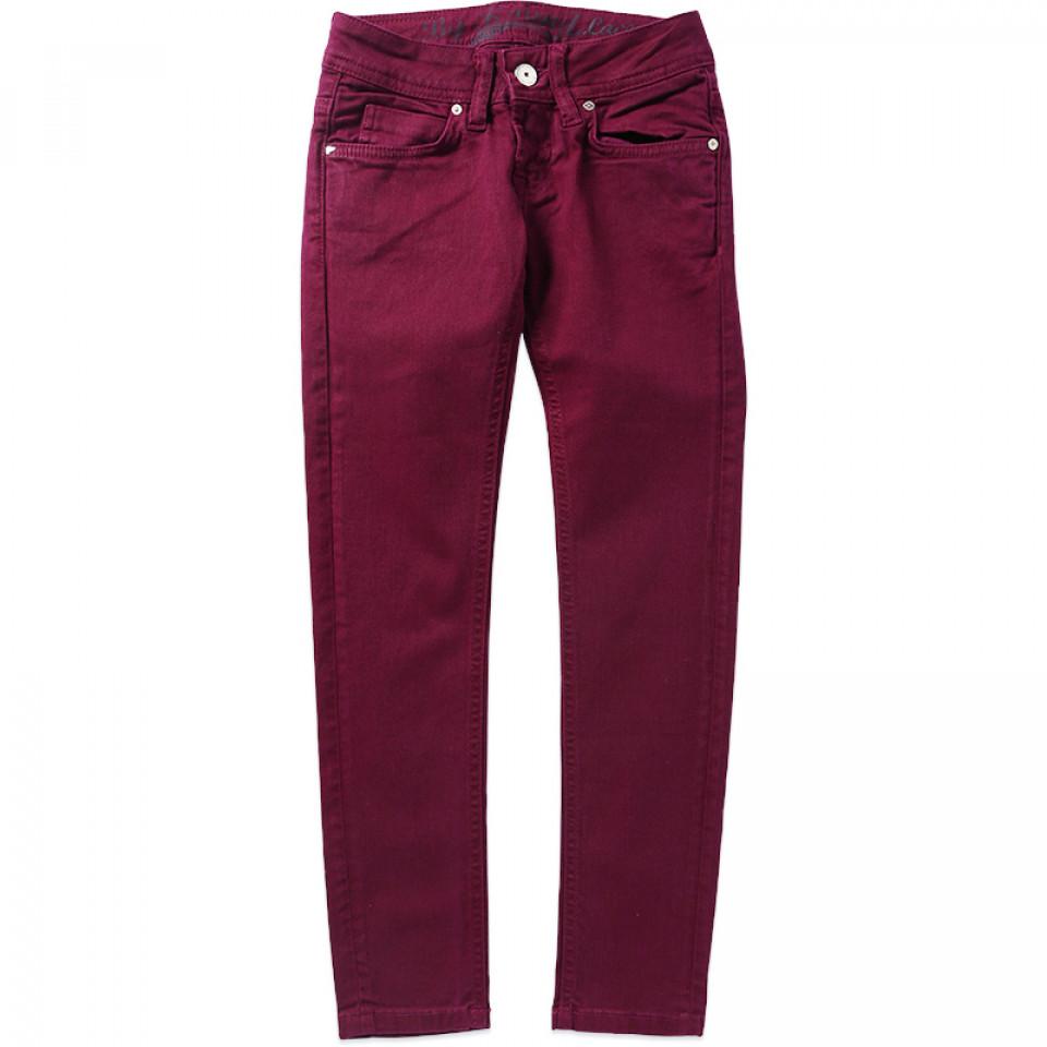 Plum Lace jeans