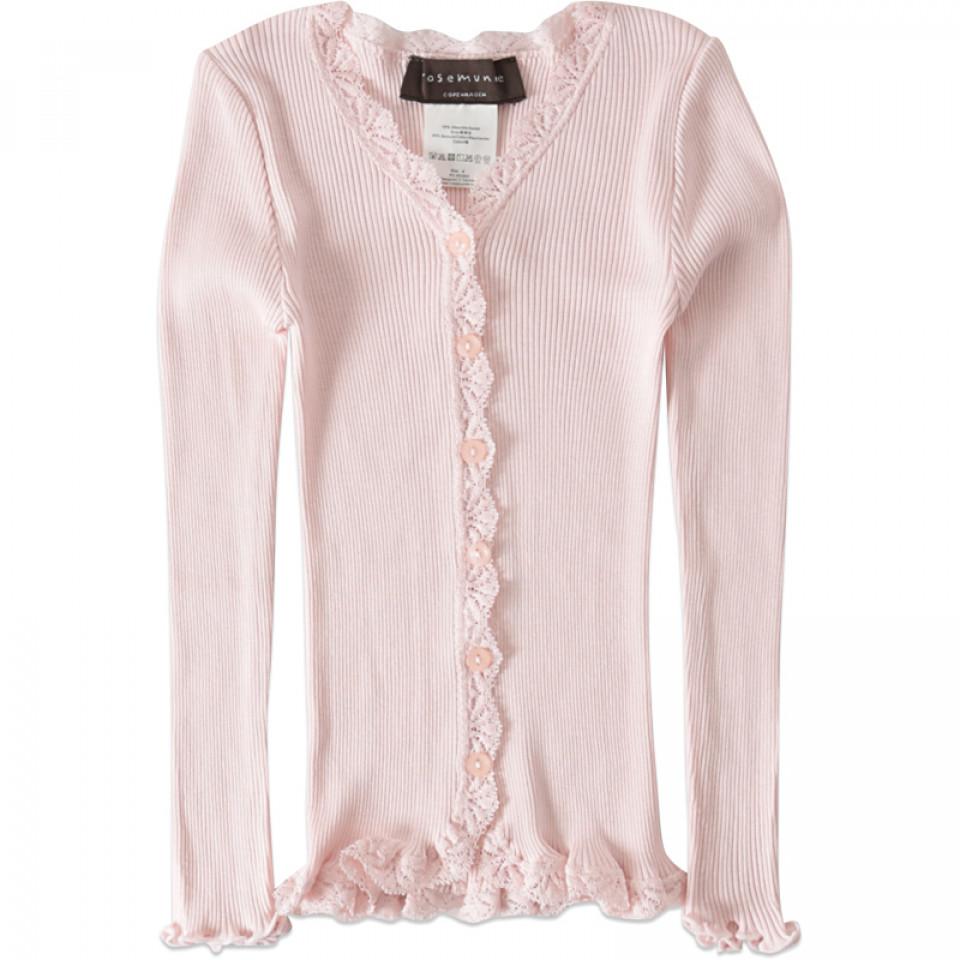 7b3481d9 Rosemunde - Beatha silk cardigan - Rosa - House of Kids