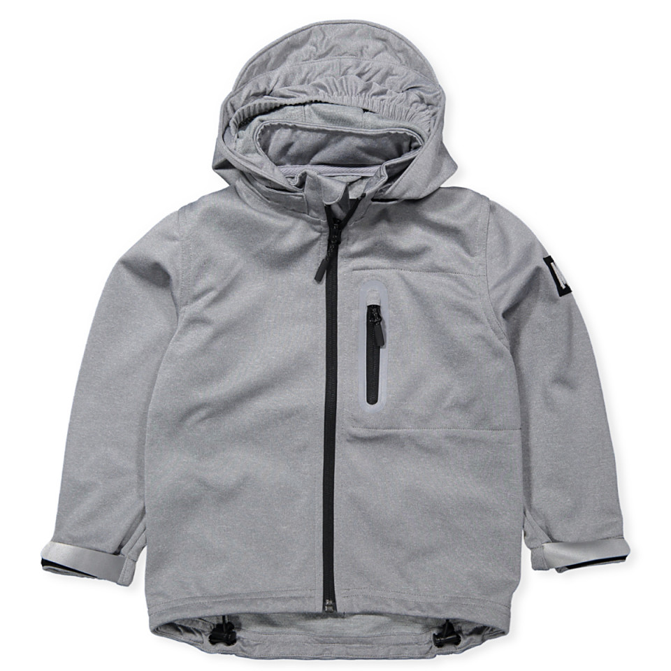 c4479d35267 Molo - Cloudy softshell jacket - Grey - House of Kids