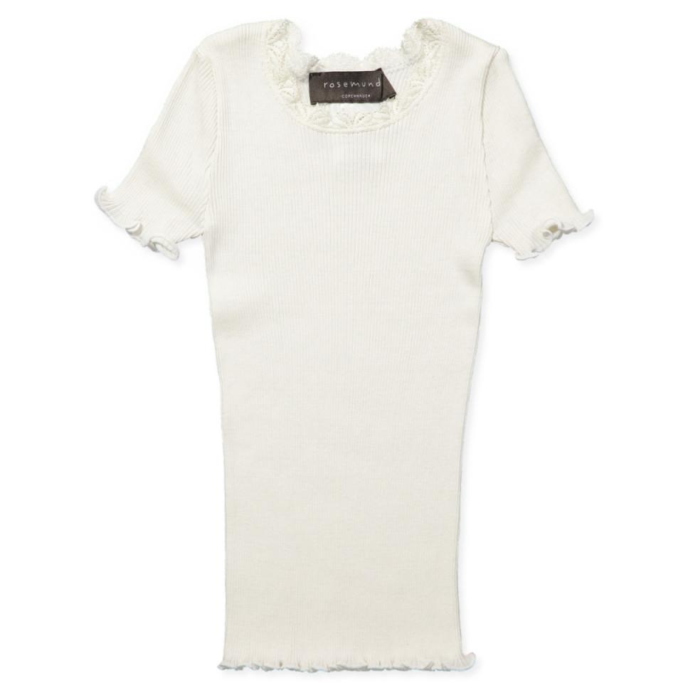 340c00a3 Rosemunde - White silk t-shirt - White - House of Kids