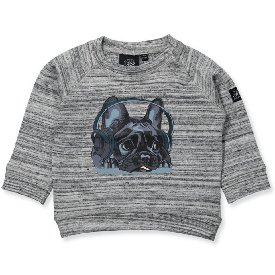 d2f908b5b67 Petit Sofie Schnoor - Sweatshirt - grey melange - Grey