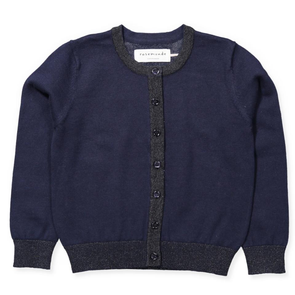801b4f31651b07 Rosemunde - Navy cardigan - navy - Navy - House of Kids