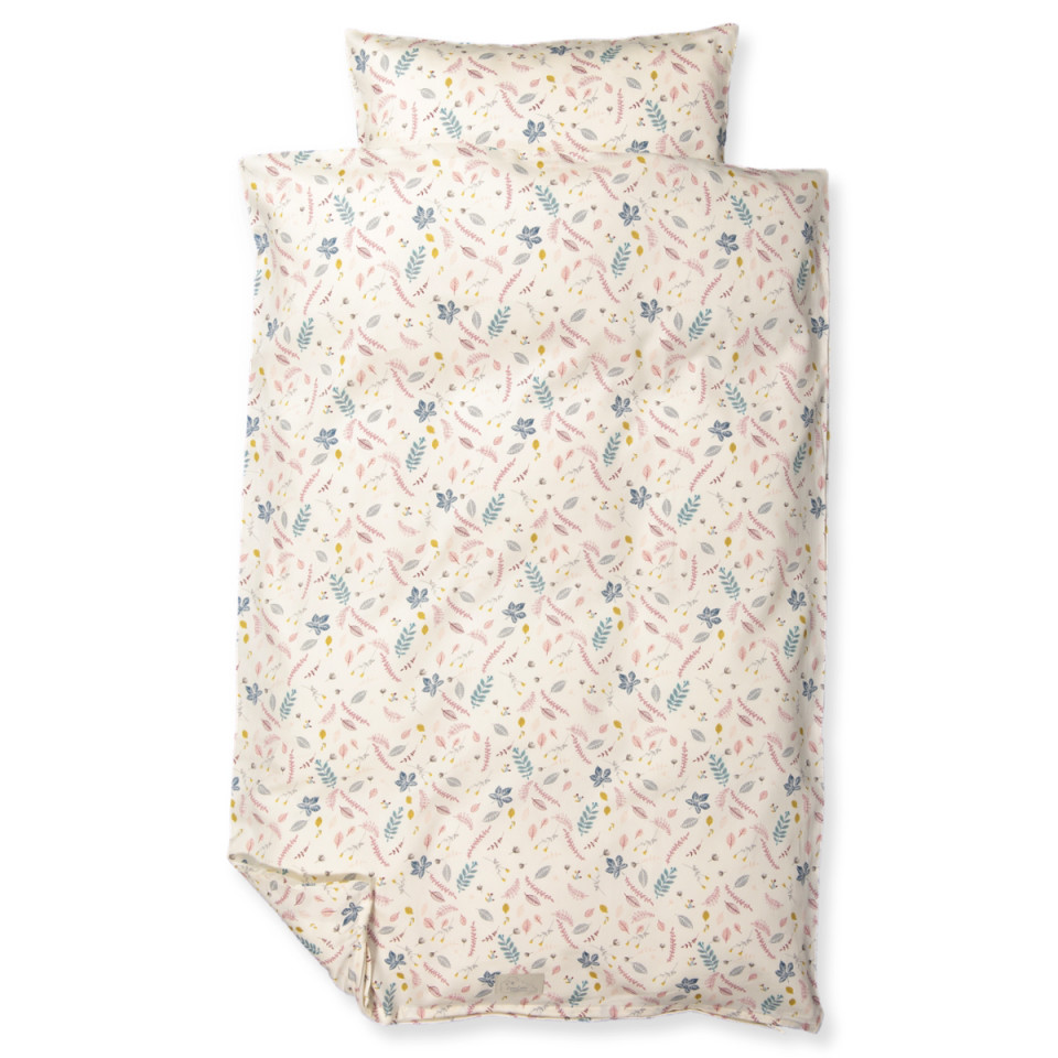 Cam Cam Organic Pressed Leaves Bed Wear