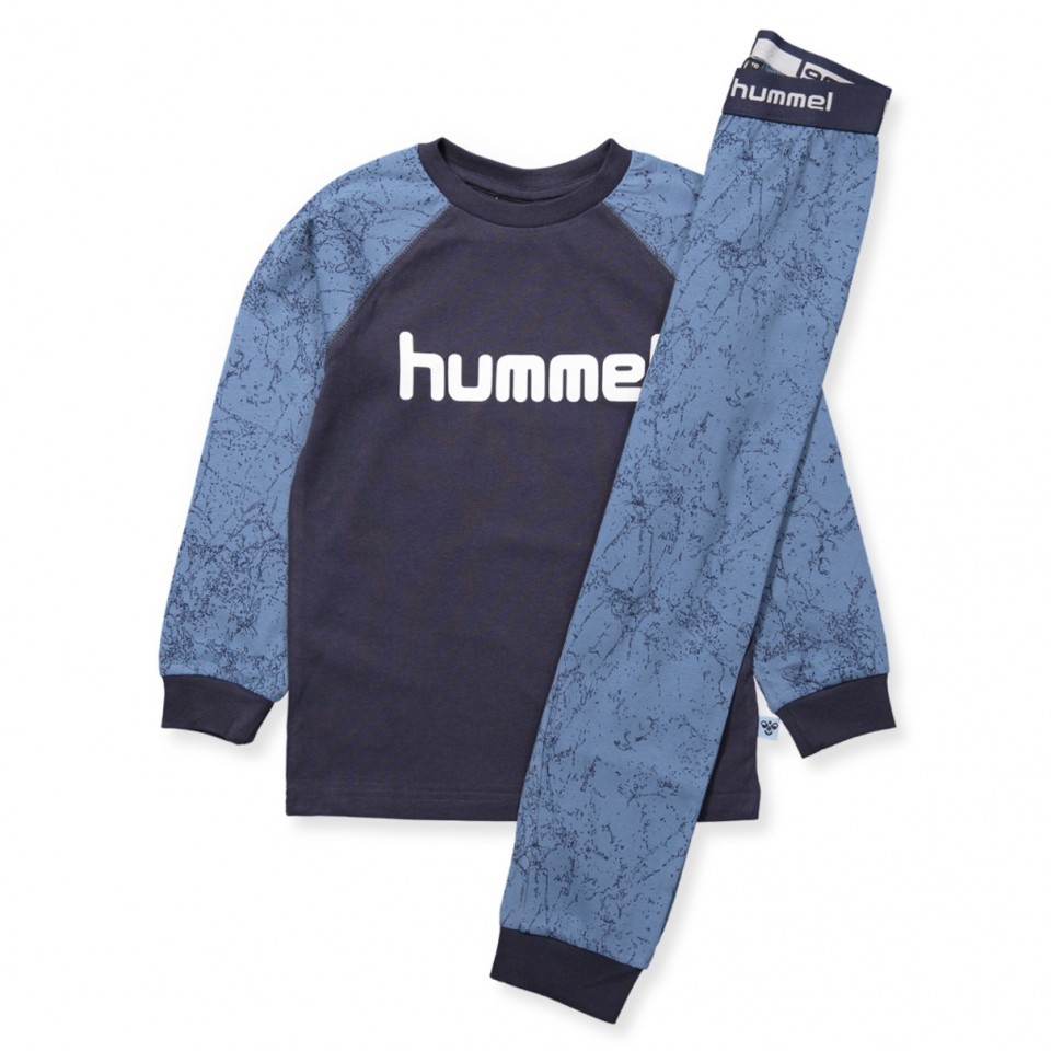 78b490f457f Hummel - Ricepop pyjamas - COPEN BLUE - Blue