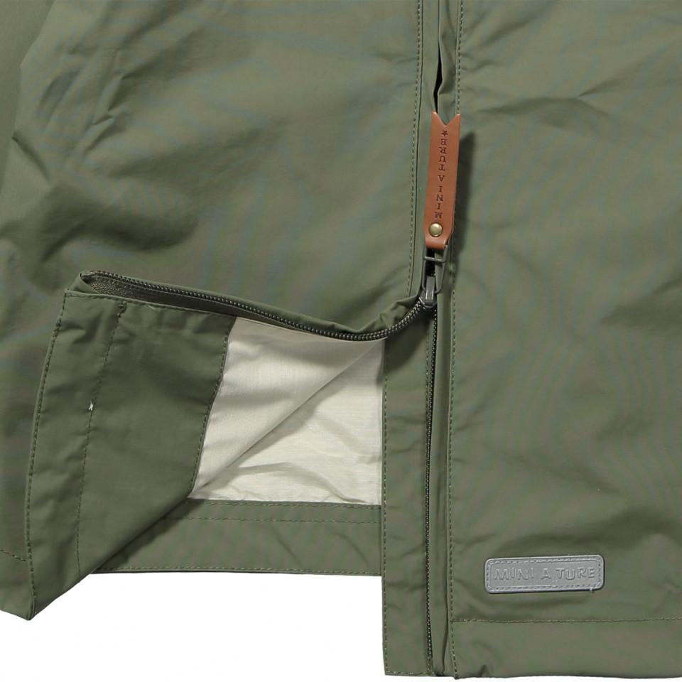 c74c4f509f1 Mini A Ture - Baby Vito Anorak - Deep green - Green