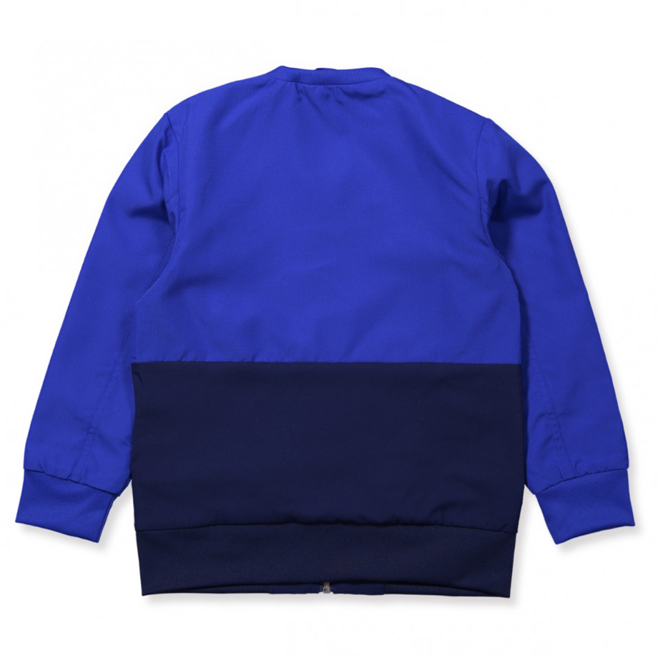 Blue Condivo zip jacket