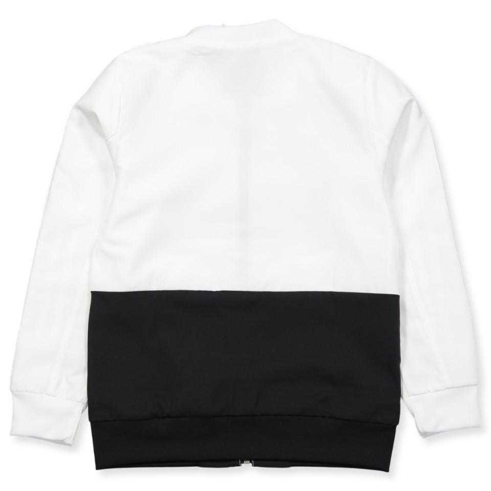 White Condivo zip jacket