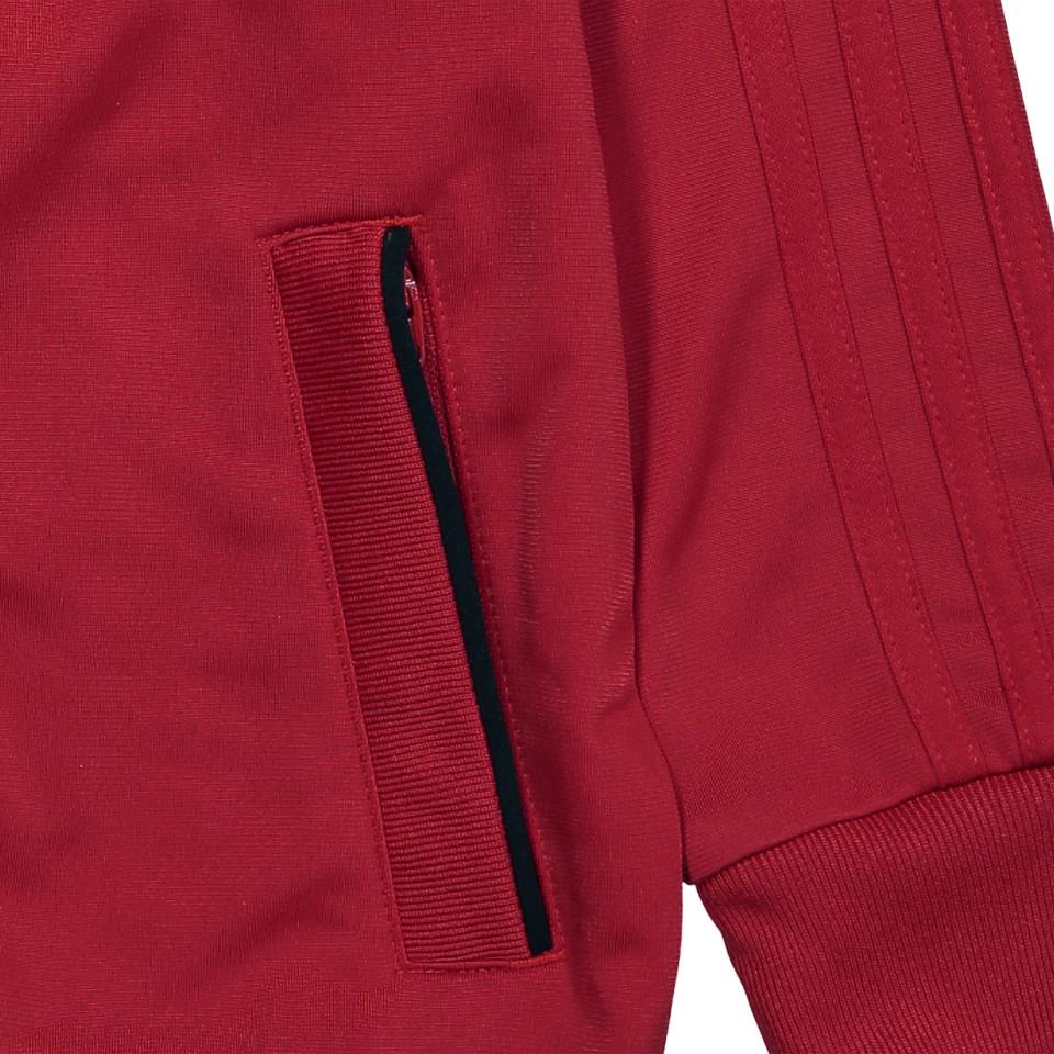 Red Condivo zip jacket