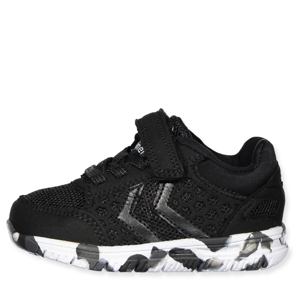 4e2979a22a1 Hummel - Crosslite Sneaker Infant - BLACK/BLACK - Black