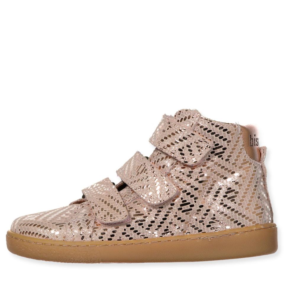 dcc265f96d4 Bisgaard - Copper sneakers - Copper metal - Rosa