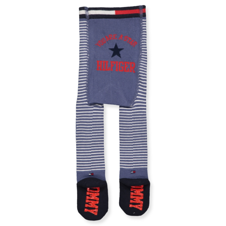 Baby tights with ski socks