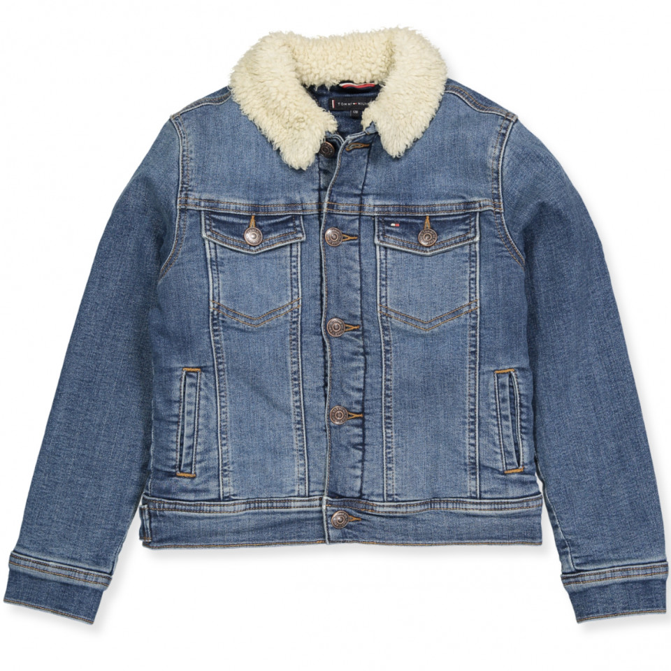 classic styles good out x 2019 hot sale Blue winter jacket
