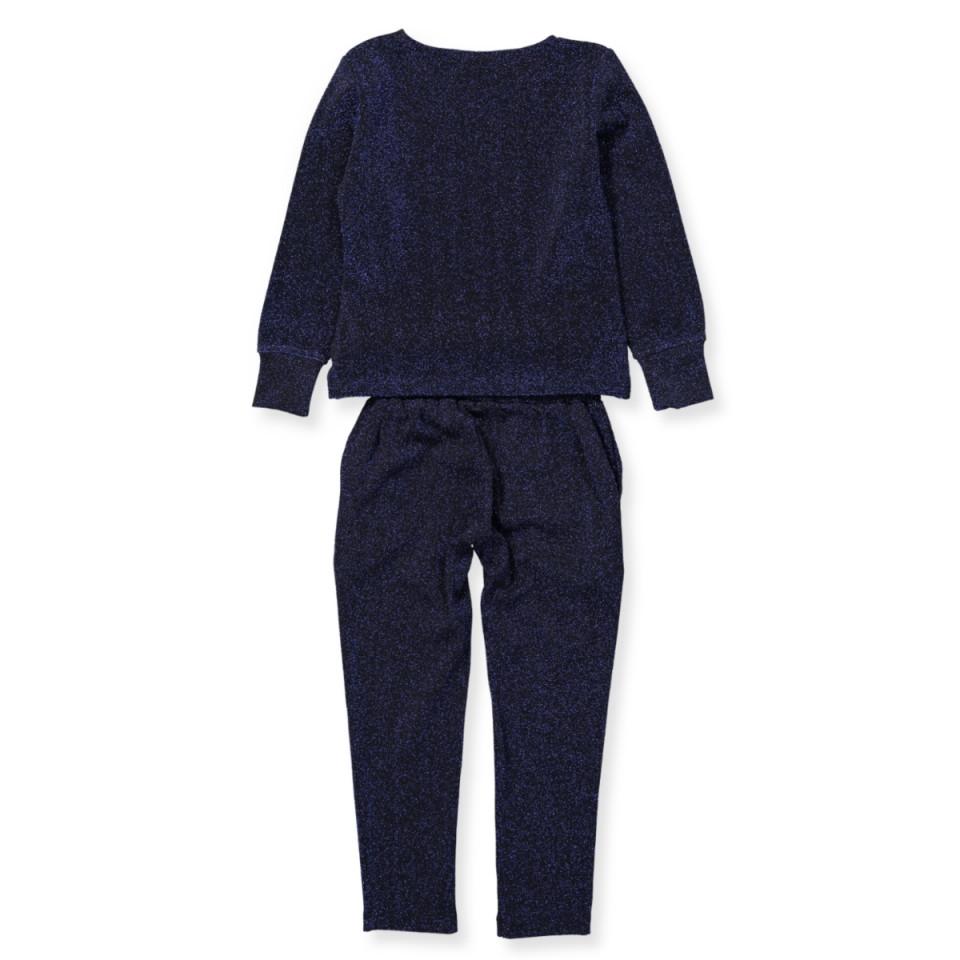 a00c1d5b5f3 The new - Jaqline glitter jumpsuit - BLACK IRIS - Blue