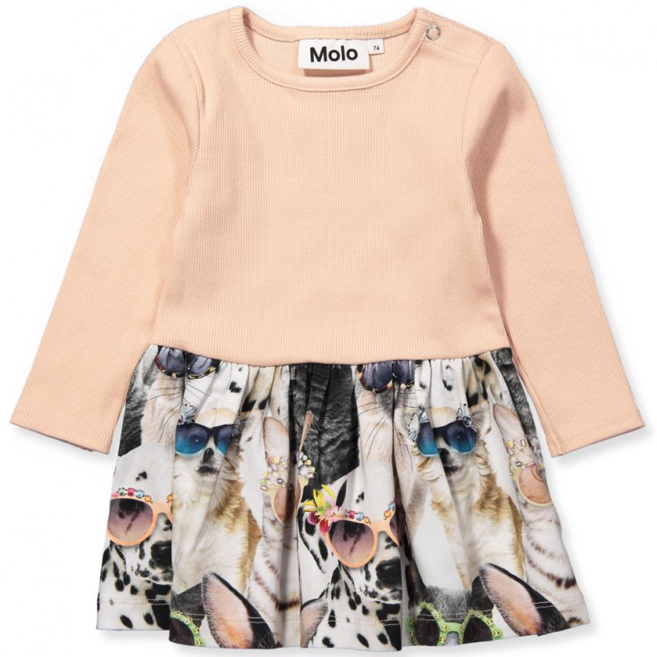 99e62ae5 Molo - Carel dress - Sunny Funny - Rosa - House of Kids