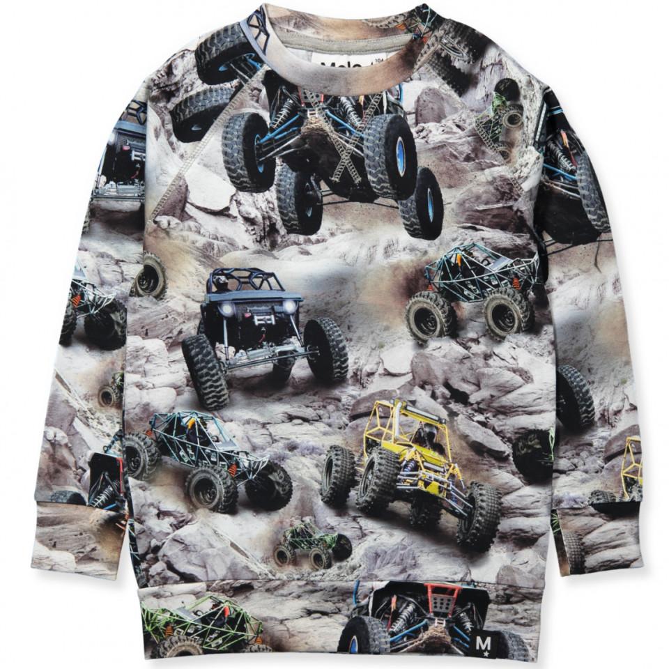 222b5e0e429 Molo - Romeo LS t-shirt - Offroad Buggy - Grey