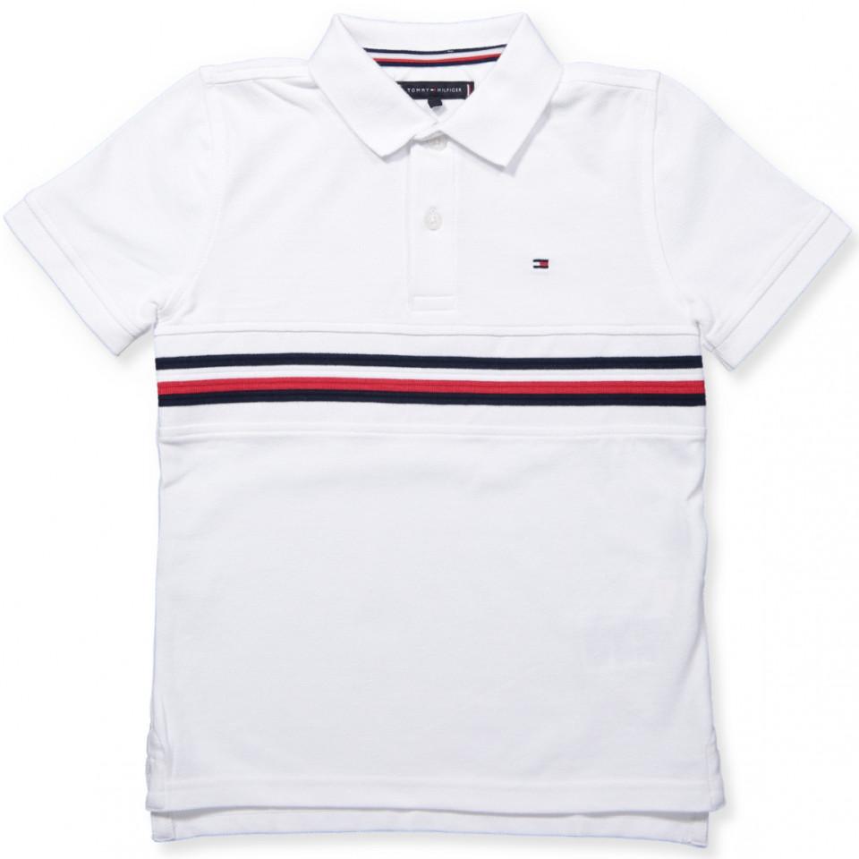 size 40 f3916 5dc14 White polo t-shirt