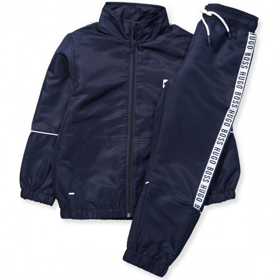 38af831065 Hugo Boss - Tracksuit - NAVY - Navy - House of Kids