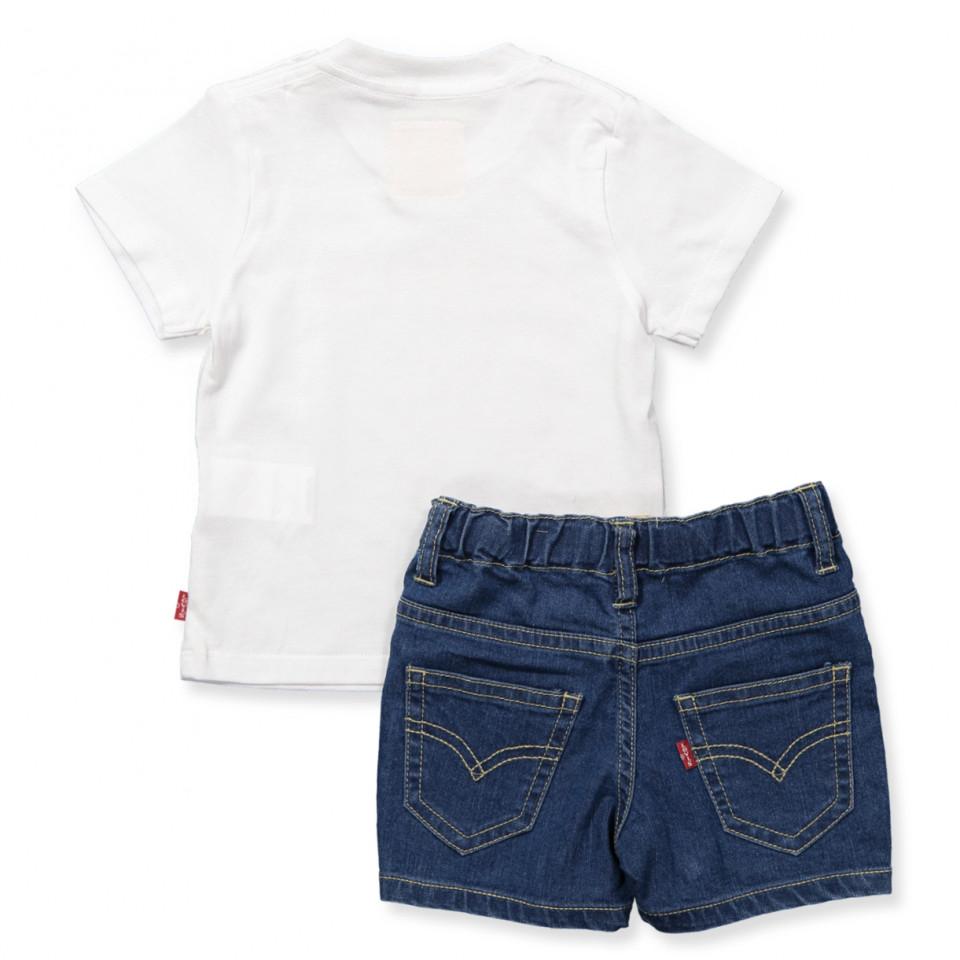 T shirt and shorts set