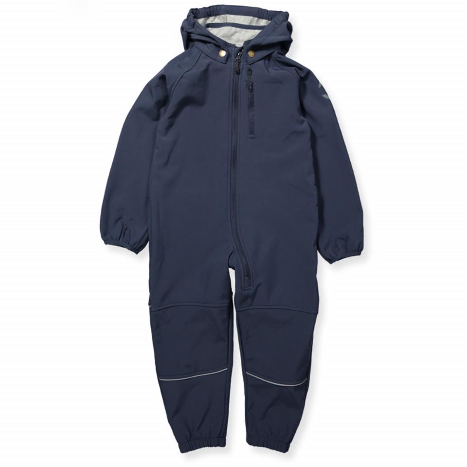 619377ccda7 Mikk-line - Navy softshell suit - Blue Nights - Navy