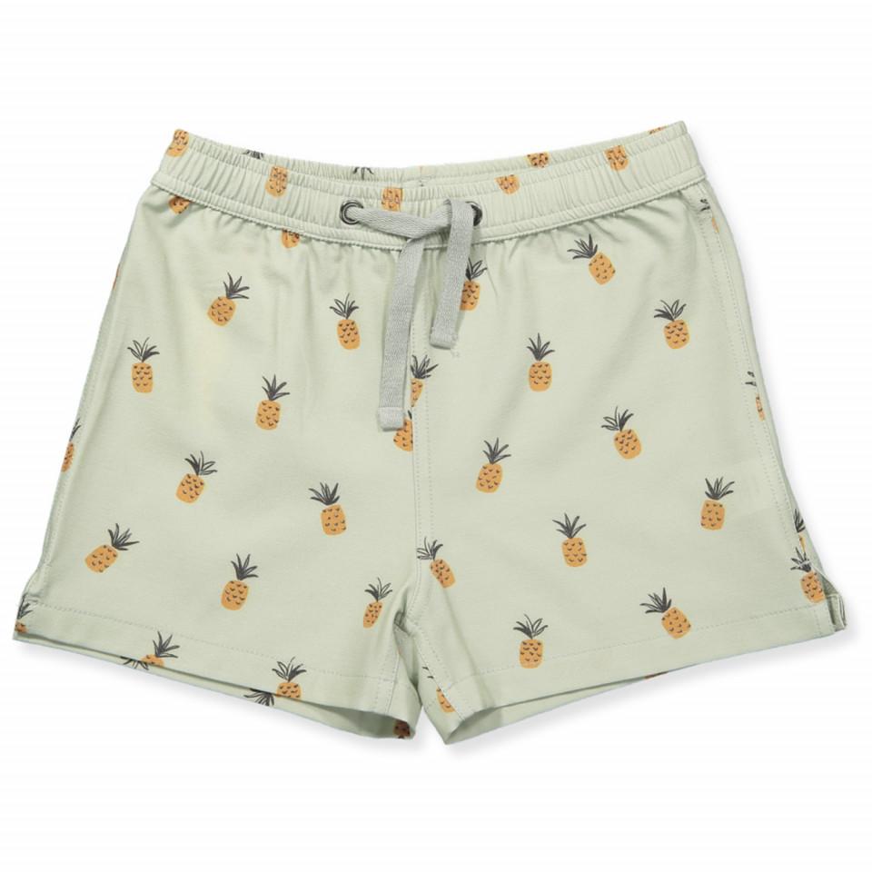 d83575590c8bf Rylee & Cru - Pineapples swim trunks - seafoam - Green
