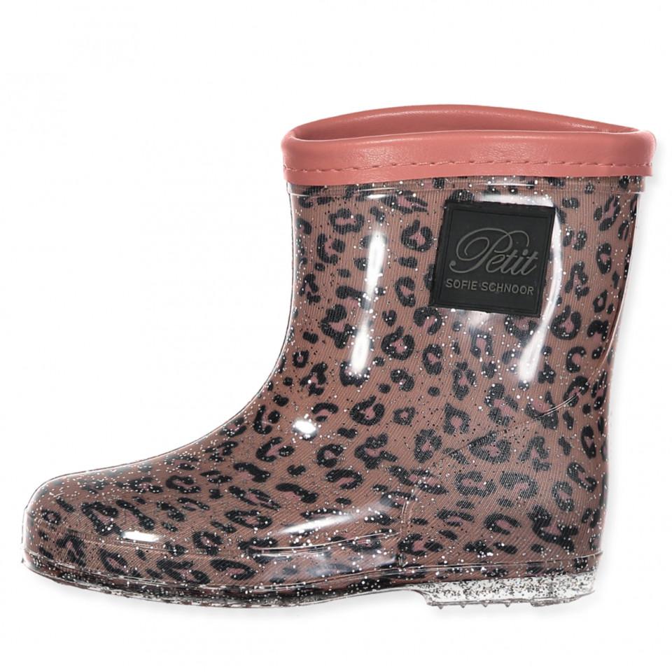 a17860d1 Petit Sofie Schnoor - Leo wellies - leopard - Rosa