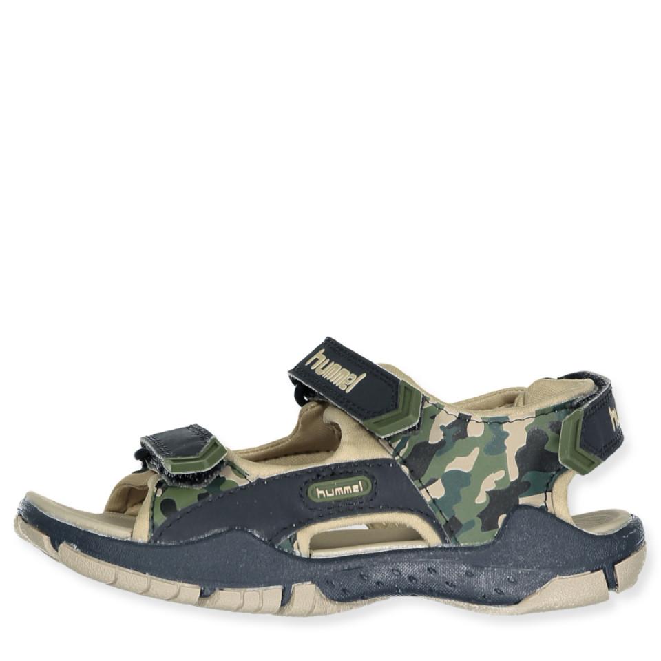 f98e8d4bc56 Hummel - Sandal Trekking Camo Jr - BLACK IRIS - Navy
