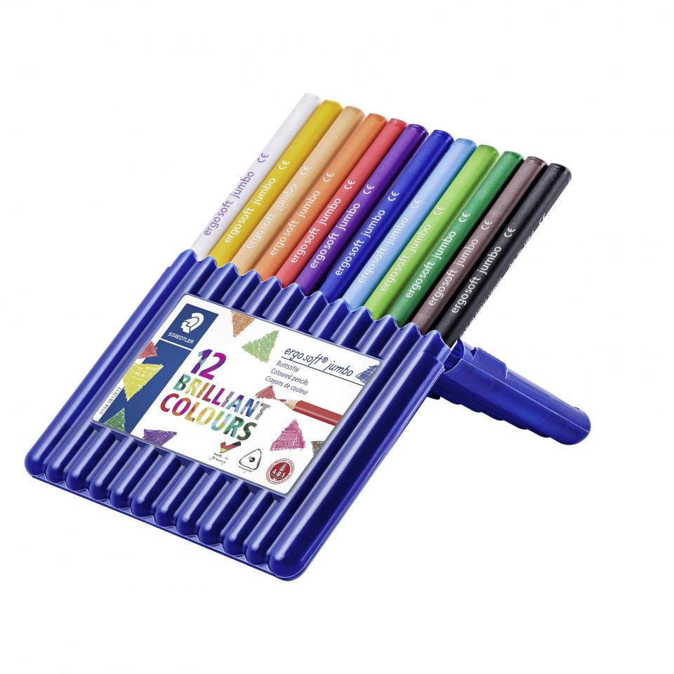 Ergo's Jumbo Color Pencils 12 pcs