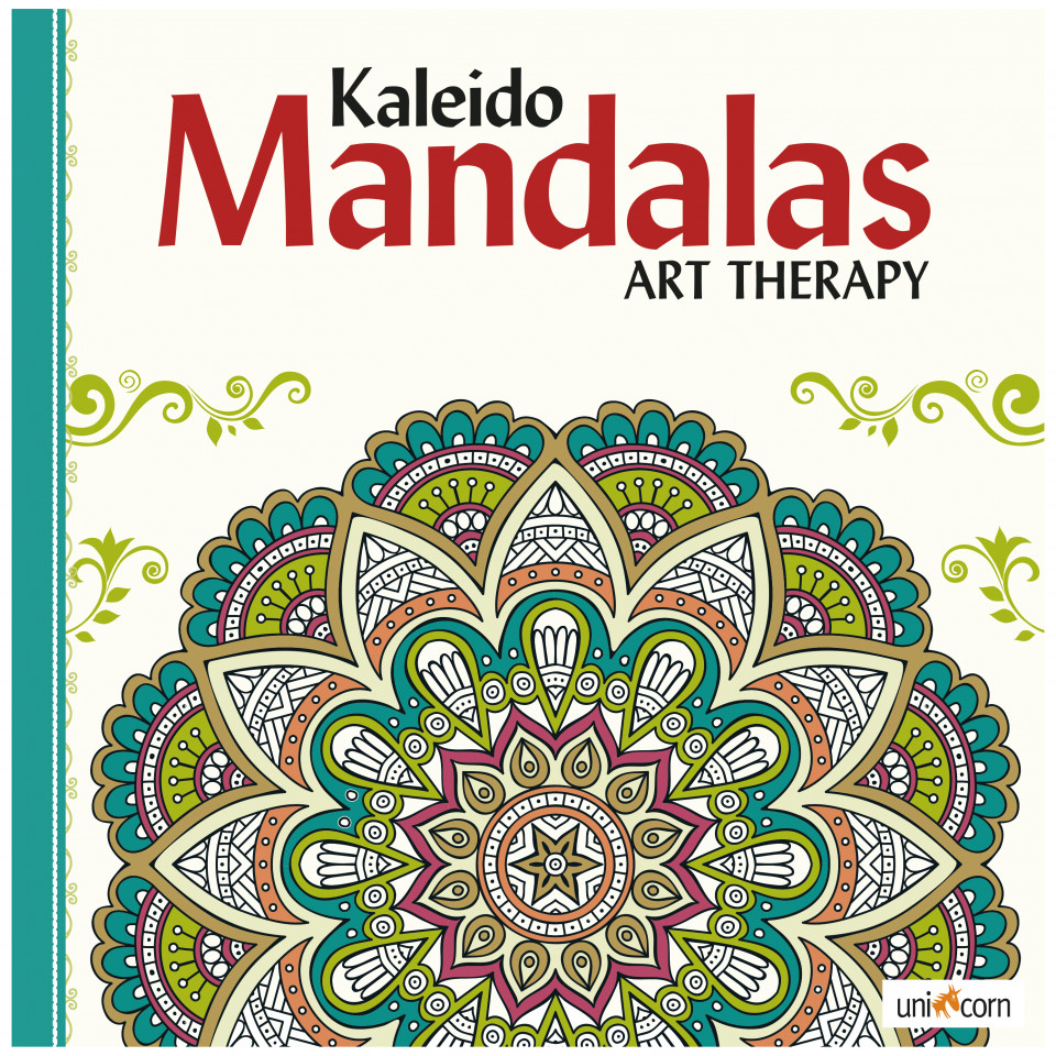 Sidste nye Mandalas - Kaleido Mandalas Art Therapy - white - White DP-69