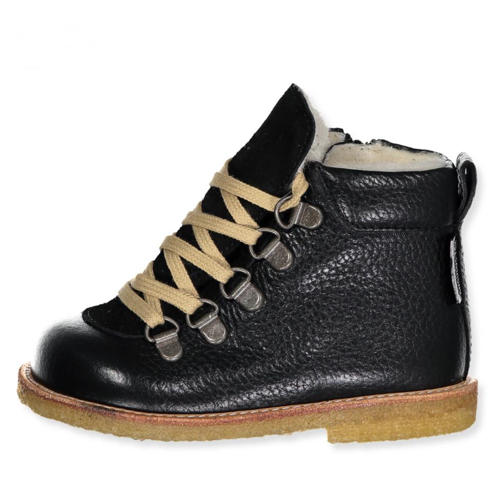 Black tex winter boots