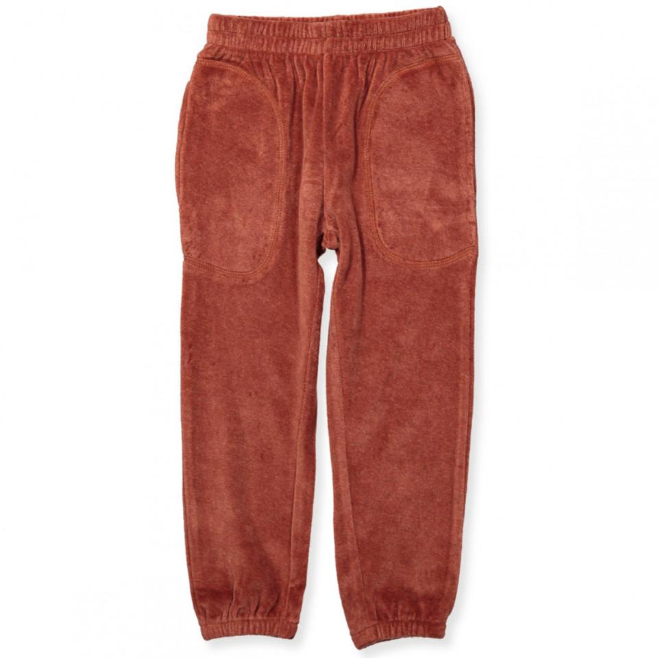 Organic velvet pants