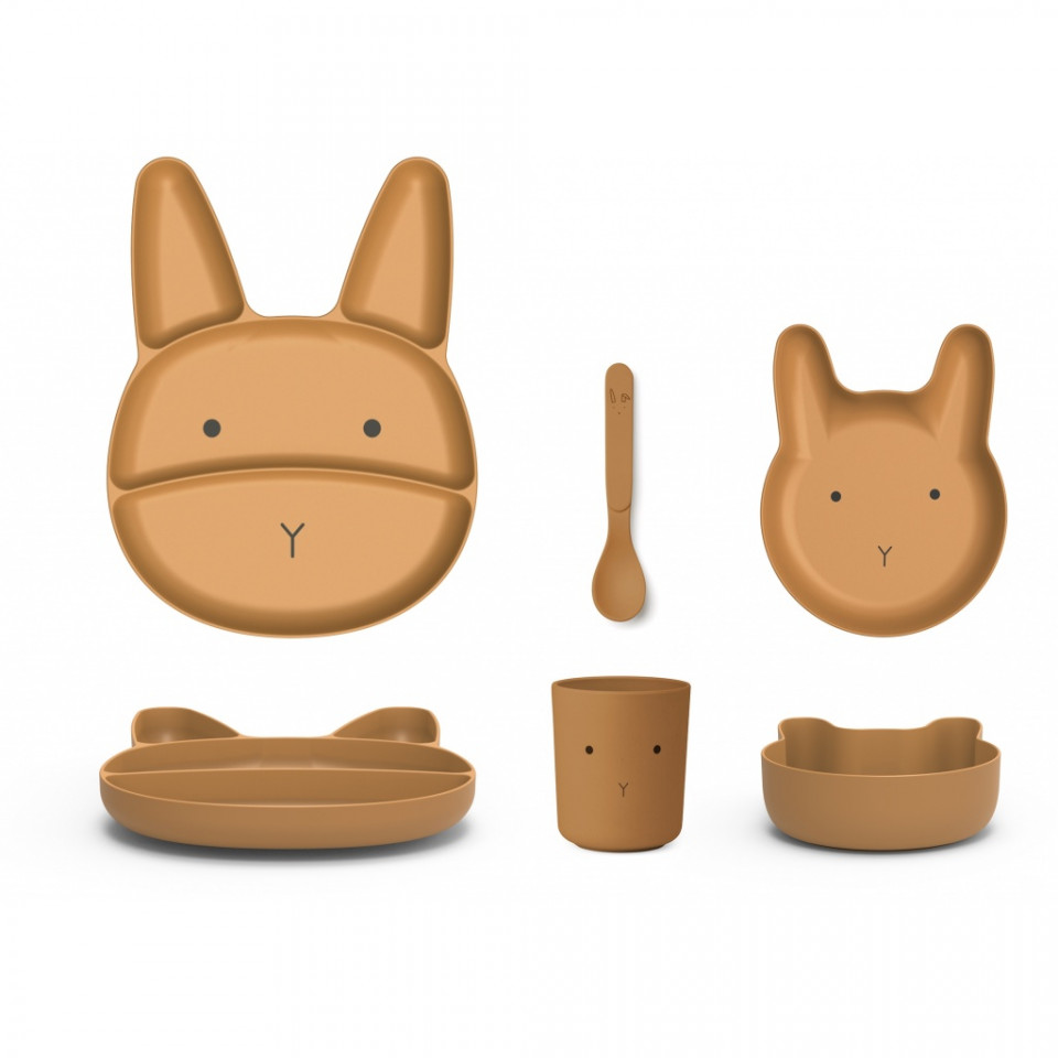 Bamboo Jules dinner set - junior