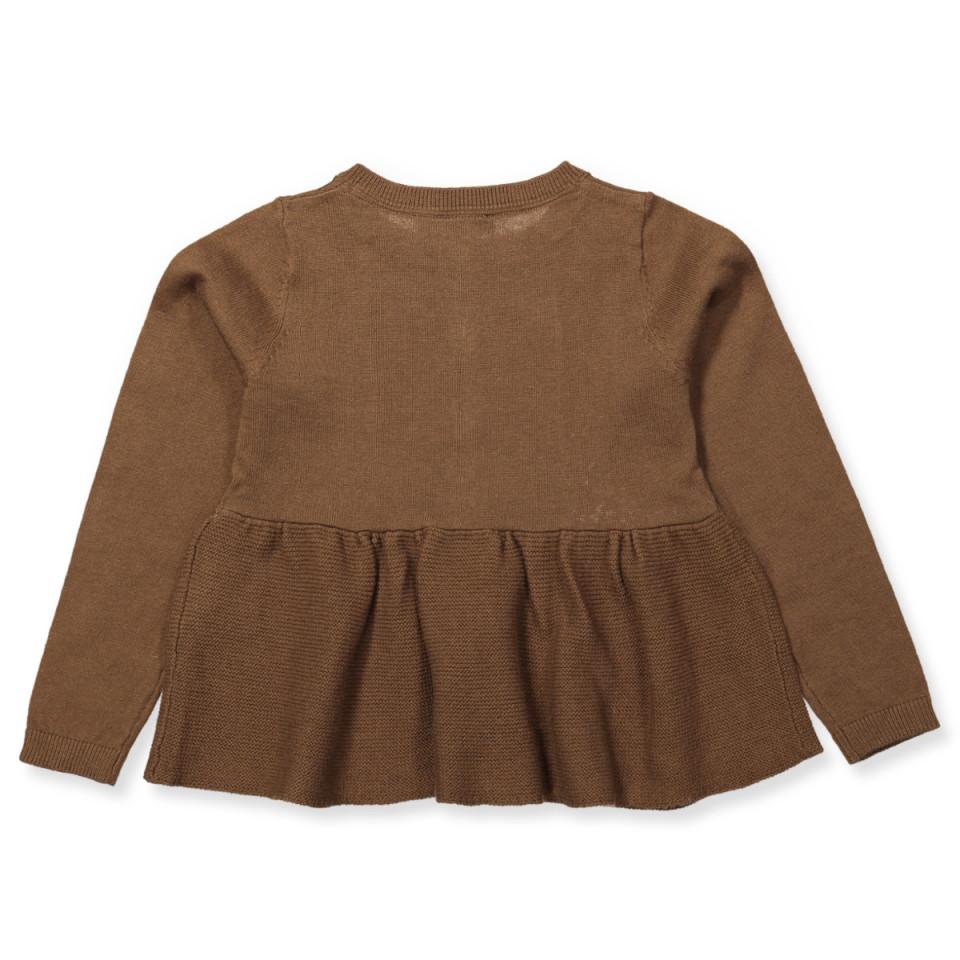 MarMar Tabitte wool cardigan Cacao Brown
