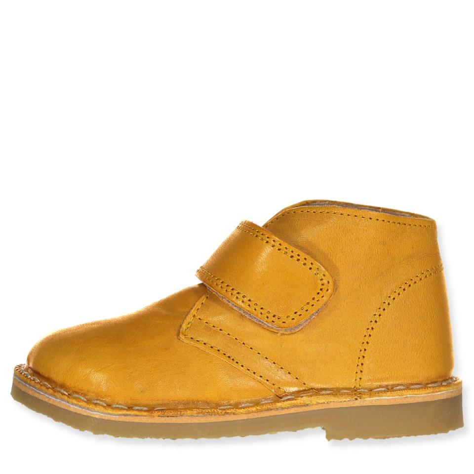 Mustard winter boots