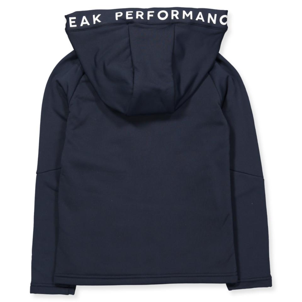 Blue zip jacket