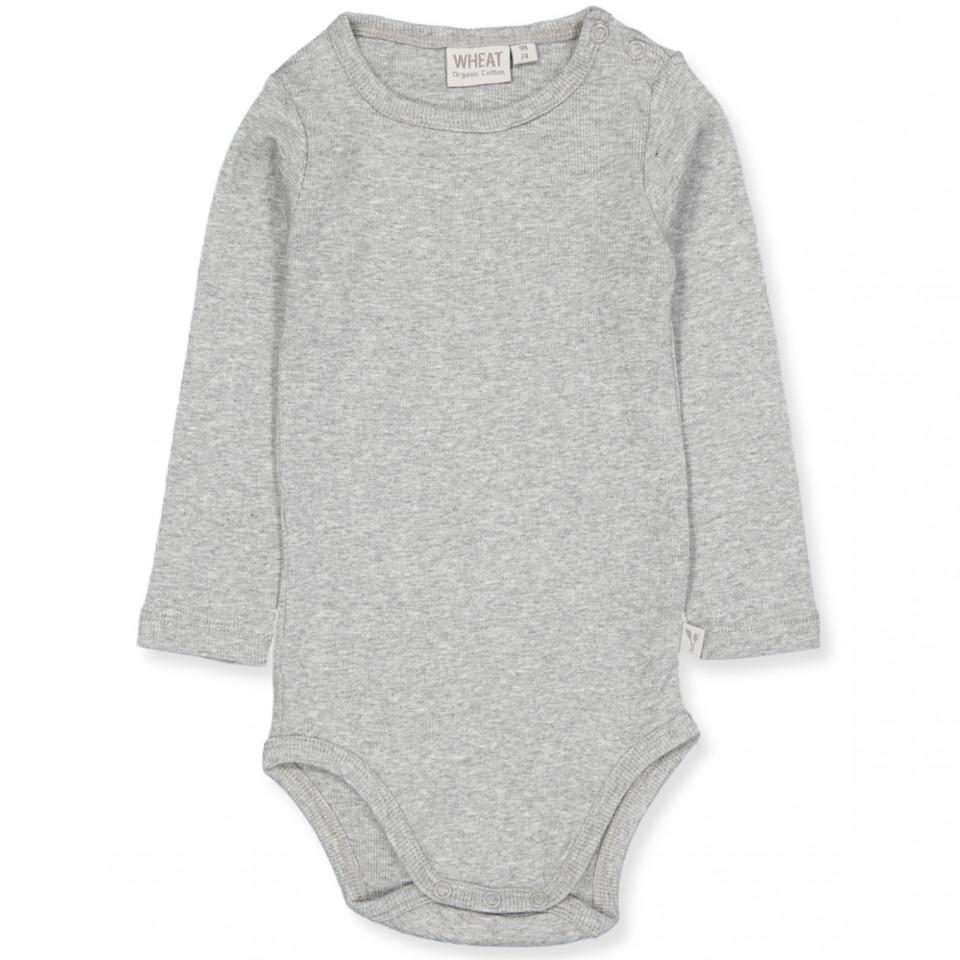 Grey rib bodysuit
