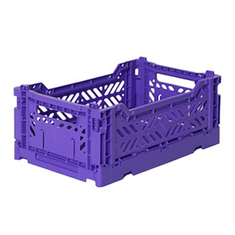 Folding box mini - violet