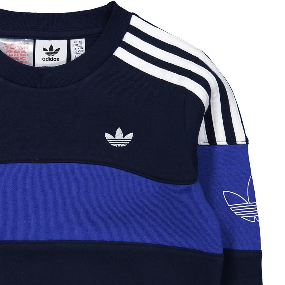 ayudante Abrumar Escarpado  Adidas Originals - Navy sweatshirt - night indigo