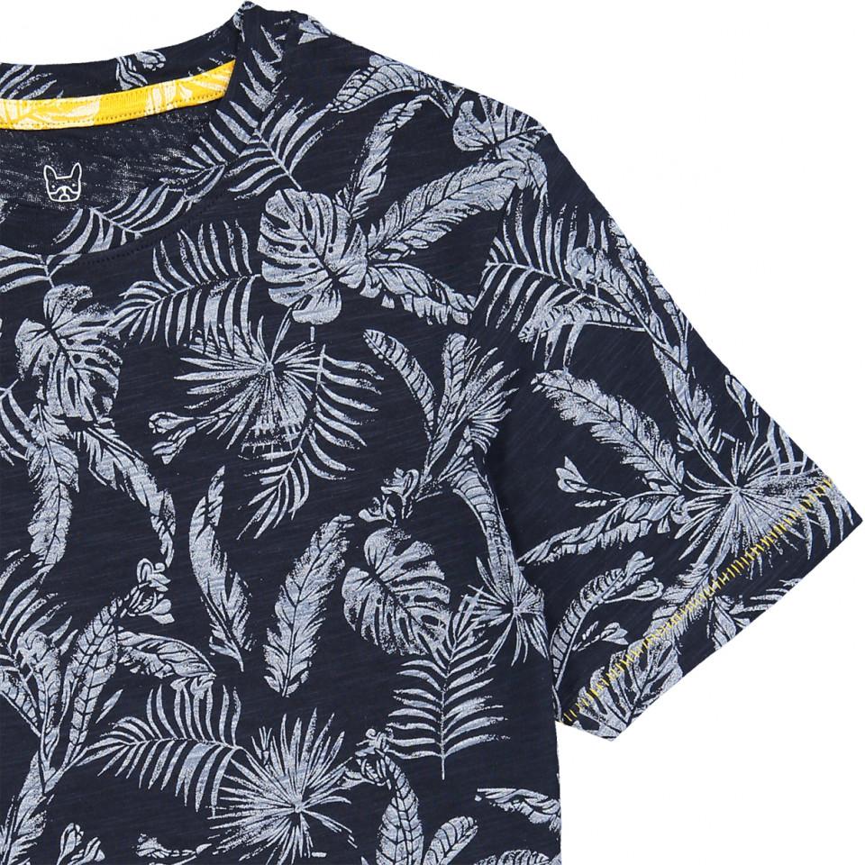 Jack and Jones Elron Shirt in Navy Blazer