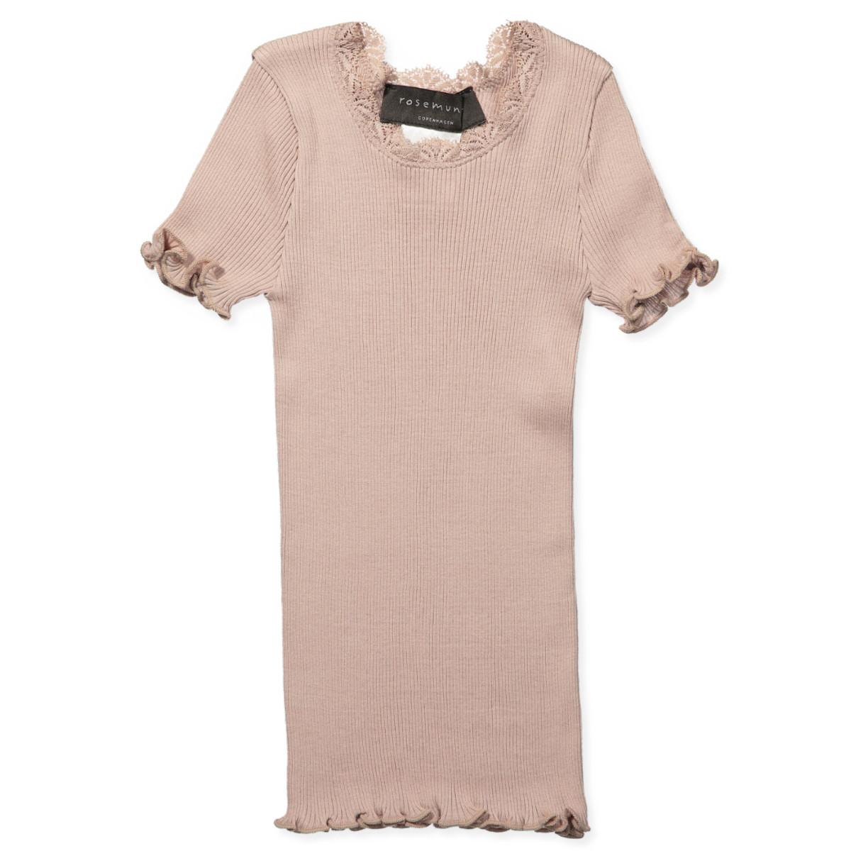 c891c6827c58cf Rosemunde - Navy silk t-shirt - Navy - House of Kids