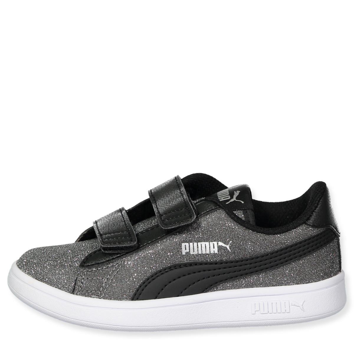 PUMA Smash v2 Glitz Glam Kid Girls' Trainers   Sneakers